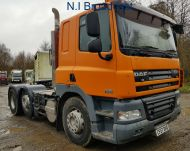 2008 DAF CF 510 6x2 44t with lift steer, ,12.9L ,510hp 438,000 km AUTOMATIC