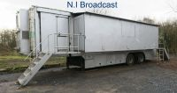 OB26 13.6metre single expanding outside broadcast trailer with air con