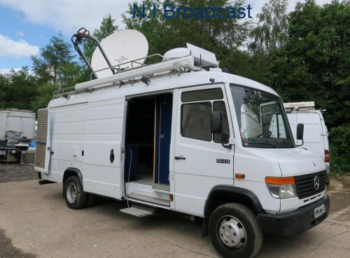 OB66  6 camera 3g / high defintition camera truck almost complete with  option 1.5m SNG Vislink dish, Riedel intercom, EVS, Sony, GVG and more