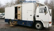OB68 8 metre sound proof dedicated sound recording van. (coachbuilt ASGB) with mast