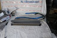 2x audio jackfield patch panels