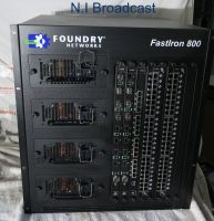 Foundry fastiron800 96port network router hub switcher with rj45 and fibre