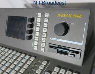Graham pattern d/esam8000 audio mixer mainframe and 1U controller