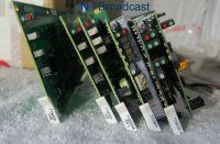 5x Evertz cards including Audio DA cards