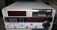 1x Sony dsr2000p pal dvcam studio recorder / player with SDI and firewire options