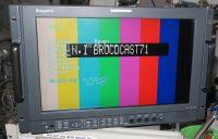 Ikegami hlm-1710wr rack mount HDSDI monitor