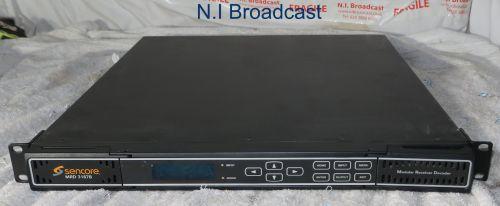 Sencore mrd3187b mpeg4 HDSDI receiver with 4x RF inputs, HDSDI output etc