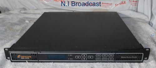 ref 2 1x Sencore mrd3187b mpeg2/4 HDSDI receiver with 4x RF inputs, BISS, HDSDI output etc