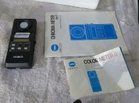 Boxed Minolta colour meter II for CRT screens etc
