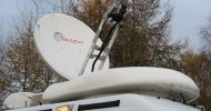 Satcom 1.2metre sng dish (ku band) with controller , GPS etc