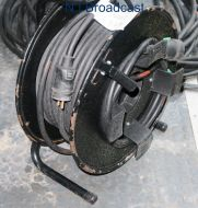 Cable drum of power cable with euro plug (titanex 11 cable)