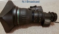 Canon high definition hj22e x 7.6 iase A broadcast lens, with extender (22x zoom) (with new glass)