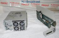 Miranda Densite 3 ethernet / frame controller card and 2x PSU (newer controller)