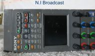 sony rcp750 rcp controller remote  used for SD and HD (ref 2)