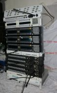 RTS telex cronus 32channel digital intercom mainframe with 9x panels and software