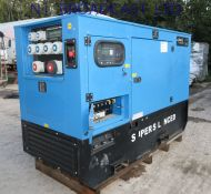 Refurbished 2018 Genset diesel mg50ss-p  50kva  3phase and 1phase generator and standby  Perkins engine.  (1 hour only) Load tested.