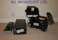 1x Sony hdc1500r multiformat high definition fibre camera channel (6 year old) with 2inch and 7inch LCD viewfinders.