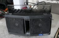 Fostex powered pro audio SPA11 speakers approx 100w each)