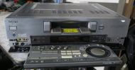 sony dhr-1000ux dv recorder / player with pull out remote