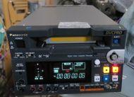 Panasonic aj-sd255e pal dvcpro 25 portable vtr with SDI (80 drum hrs)