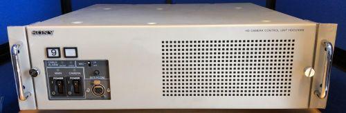 Sony hdcu1000 fibre optic ccu for hd 1500r, hd2500, hd1500 etc