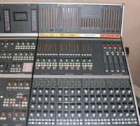 Calrec alpha 100 64 channel sound mixer control surface with PSU