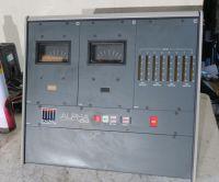 Calrec alpha 100 desktop panel sound mixer panel