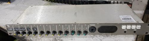 12 input analog input monitoring unit with speakers