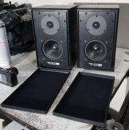 Matched pair black  Harbeth speakers hl-p3es speakers ( with extra specication version (ES)