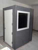 5 foot x 4foot Gold series vocal booth (perfect for studio etc) (can be dismantled easily onto pallet. also and moved)(£6500 new)