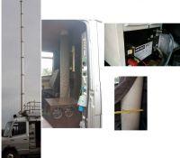 Clarke xt12 12metrepneumatic mast with 200 compressor clarke.
