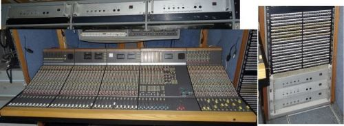 Complete Calrec 48:8:2:248 channel mic / line live broadcast S2 analog sound mixer