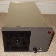 half rack (3RU) 2 XLR analog input speaker unit with volume by NEWBURY SYSTEMS.