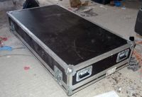 Large sound / video flightcase 143cm x 87cm x 43cm