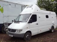 (Ob23) Left hand drive Mercedes sprinter 412D
