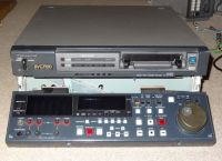 Panasonic aj-D750E pal dvcpro video recorder.