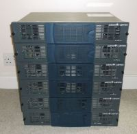 SeveralLeitch harris 6800+ frames with 10x VSM-6800+SDI monitoring VDAS with SDI and composite outputs (10bit)