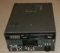 Sony DVW-A500P pal digi beta recorder with beta SP playback. 274 drum hours. (ref 2)