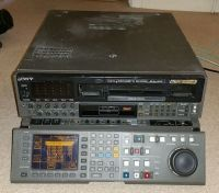Sony DVW-A500P pal digi beta recorder with beta SP playback.upgraded LCD panel (ref 3)