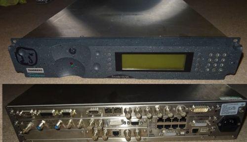 Tandberg E5720 mpeg2 encoder with QPSK DEmodulator built in