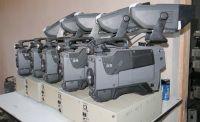 Sony bvp950wsp pal 16:9 triax cameras with half rack SDI ccu (fischer triax)