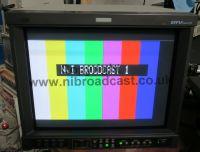 JVC 17inch dt-V1710CG HDSDI crt monitor with HDSDI, SD inputs. and flightcase (ref 2)