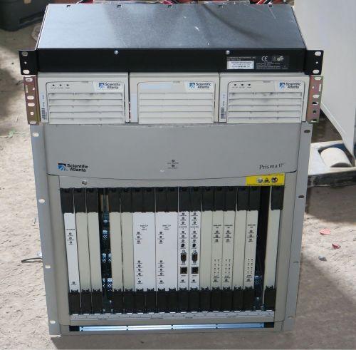 Scientific atlantic Prisma IP  mainframe with 24x ASI inputs etc