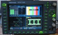 Tektronix WFM7100 HD/ SD scope with HD, EYE, jitter, DAT, PPY ,DDE audio etc