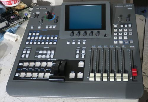 Panasonic  8 channel pal ag-mx70e vision mixer with composite / component inputs.