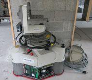 Vinten radamec  robotic pedestal with head, controller and PSU