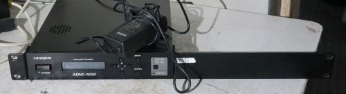 Canopus advc-1000 DV to SDI and SDI to DV converter with aes option