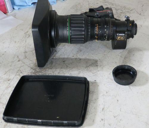 Canon j11a x 4.5 B4 iasd sx12 wide angle lens with focus servo option