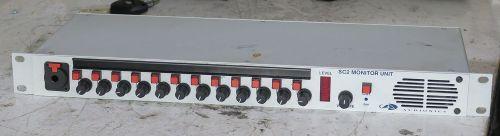 Audionics sc2 monitor unit / intercom unit