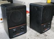 Matched Pair Fostex 6301b Active Powered Speakers With Amplifiers Cameras & Photo ref 2 Audio For Video
